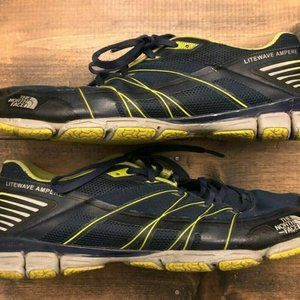 Mens The North Face Litewave Running Shoes Size 13